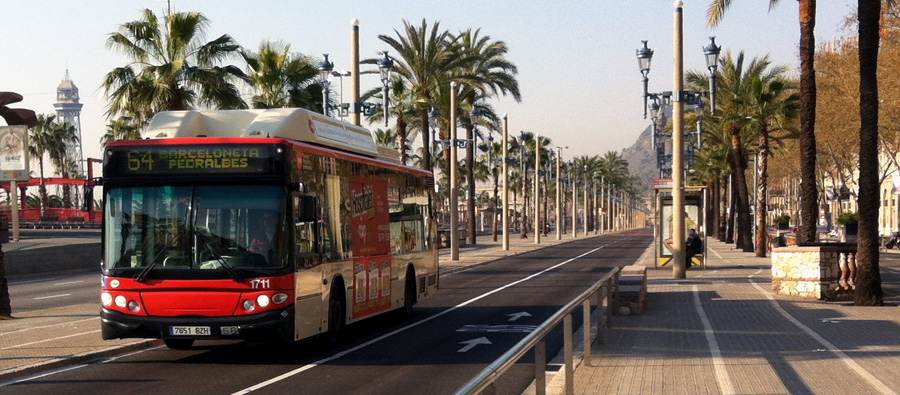 City bus Barcelona